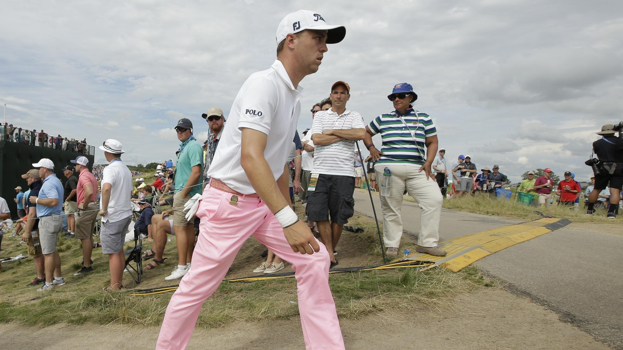 Justin Thomas makes US Open history